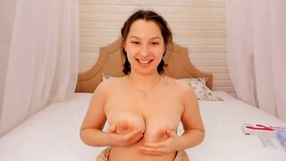 NancyBerry – Hottie Plays With Her Amazing Tits